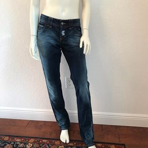 Galliano Straight leg skinny jeans